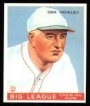 1933 Goudey Reprint #175  Dan Howley  Front Thumbnail