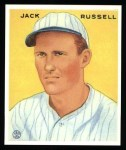 1933 Goudey Reprint #123  Jack Russell  Front Thumbnail