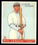 1933 Goudey Reprint #164  Lloyd Waner  Front Thumbnail