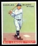 1933 Goudey Reprint #153  Buddy Myer  Front Thumbnail