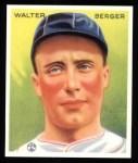 1933 Goudey Reprint #98  Wally Berger  Front Thumbnail