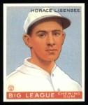 1933 Goudey Reprint #68  Horace Lisenbee  Front Thumbnail