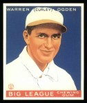 1933 Goudey Reprint #174  Warren Ogden  Front Thumbnail