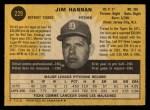1971 O-Pee-Chee #229  Jim Hannan  Back Thumbnail
