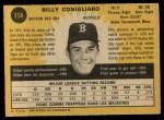 1971 O-Pee-Chee #114  Billy Conigliaro  Back Thumbnail