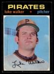 1971 O-Pee-Chee #534  Luke Walker  Front Thumbnail