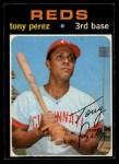 1971 O-Pee-Chee #580  Tony Perez  Front Thumbnail