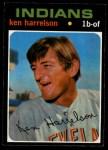 1971 O-Pee-Chee #510  Ken Harrelson  Front Thumbnail