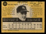 1971 O-Pee-Chee #234  Jim Lyttle  Back Thumbnail