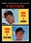 1971 O-Pee-Chee #391   -  Cotton Nash / Steve Brye Twins Rookies Front Thumbnail