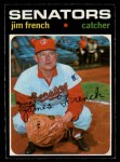 1971 O-Pee-Chee #399  Jim French  Front Thumbnail