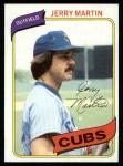 1980 Topps #493  Jerry Martin  Front Thumbnail