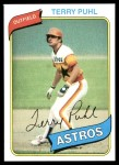 1980 Topps #147  Terry Puhl  Front Thumbnail