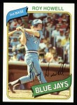 1980 Topps #488  Roy Howell  Front Thumbnail