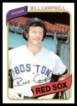 1980 Topps #15  Bill Campbell  Front Thumbnail