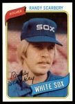 1980 Topps #291  Randy Scarberry   Front Thumbnail