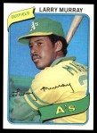 1980 Topps #284  Larry Murray    Front Thumbnail