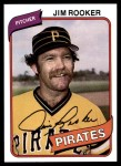 1980 Topps #694  Jim Rooker  Front Thumbnail