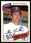 1980 Topps #184  Steve Renko    Front Thumbnail