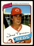1980 Topps #714  Fred Norman  Front Thumbnail