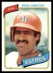 1980 Topps #268  Rafael Landestoy  Front Thumbnail