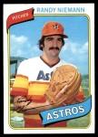 1980 Topps #469  Randy Niemann    Front Thumbnail