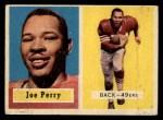 1957 Topps #129  Joe Perry  Front Thumbnail