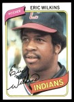 1980 Topps #511  Eric Wilkins   Front Thumbnail