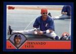 2003 Topps #589  Fernando Tatis  Front Thumbnail