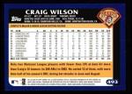 2003 Topps #493  Craig Wilson  Back Thumbnail
