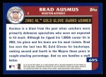 2003 Topps #695   -  Brad Ausmus Award Winners Back Thumbnail