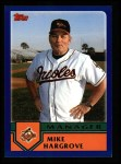 2003 Topps #264  Mike Hargrove  Front Thumbnail