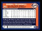 2003 Topps #391  Bubba Trammell  Back Thumbnail