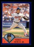 2003 Topps #149  Tony Armas Jr.  Front Thumbnail