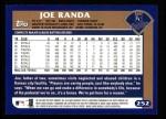 2003 Topps #252  Joe Randa  Back Thumbnail