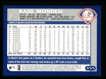2003 Topps #455  Raul Mondesi  Back Thumbnail