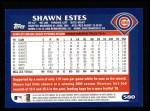 2003 Topps #580  Shawn Estes  Back Thumbnail