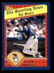 2003 Topps #360   -  Torii Hunter All-Star Front Thumbnail