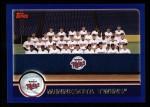 2003 Topps #646   Minnesota Twins Team Front Thumbnail