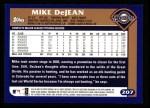 2003 Topps #207  Mike DeJean  Back Thumbnail