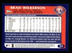2003 Topps #59  Brad Wilkerson  Back Thumbnail