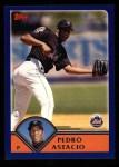 2003 Topps #482  Pedro Astacio  Front Thumbnail