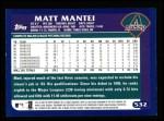 2003 Topps #532  Matt Mantei  Back Thumbnail