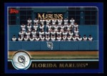2003 Topps #641   Miami Marlins Team Front Thumbnail