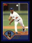 2003 Topps #256  Omar Daal  Front Thumbnail