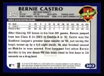 2003 Topps #303   -  Bernie Castro First Year Back Thumbnail