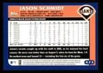 2003 Topps #473  Jason Schmidt  Back Thumbnail