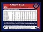 2003 Topps #398  Aaron Sele  Back Thumbnail