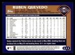 2003 Topps #111  Ruben Quevedo  Back Thumbnail
