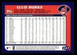 2003 Topps #247  Ellis Burks  Back Thumbnail